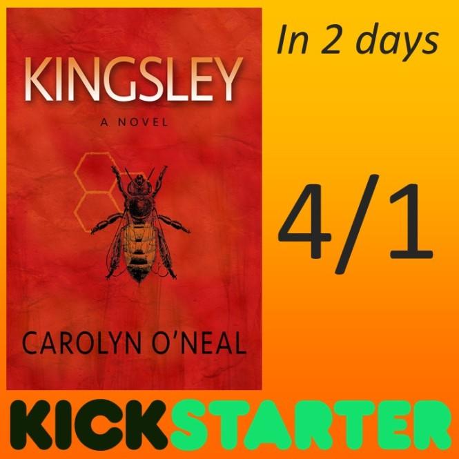 Kickstarter Campaign for KINGSLEY begins in 2 Days!!