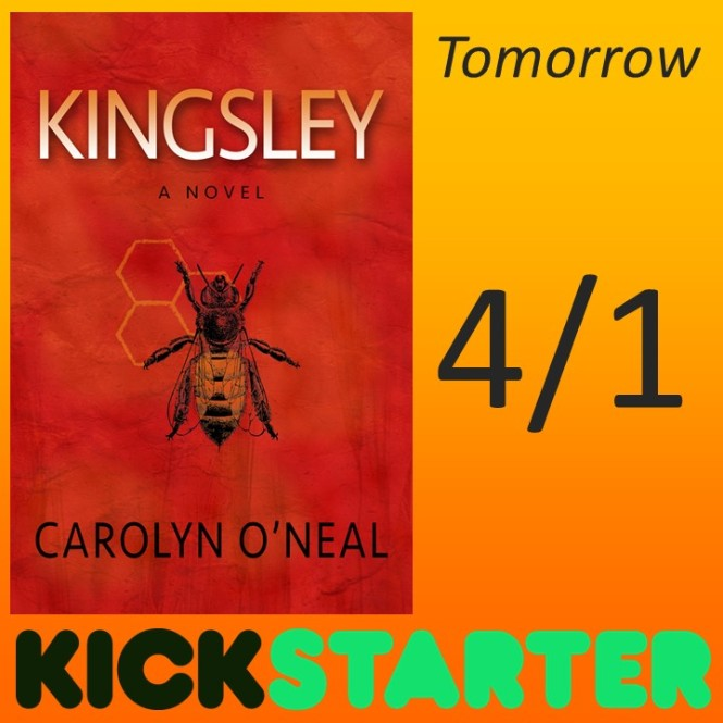 Kickstarter for KINGSLEY goes LIVE tomorrow!!